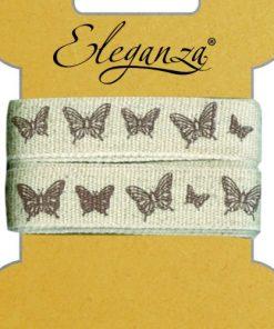 15mm Eleganza Craft Elegant Butterfly Ribbon