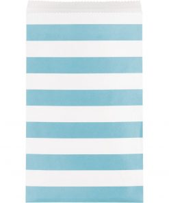 Paper Treat Bags Pastel Blue