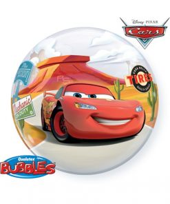 "22"" Lightning McQueen & Mater Single Bubble"