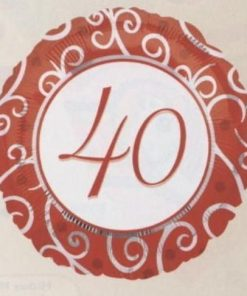 """18"""" 40th Anniversary Foil"""