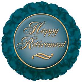 "18"" Elegant Retirement Foil"