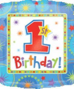 """18"""" One-derful Birthday Boy Foil"""