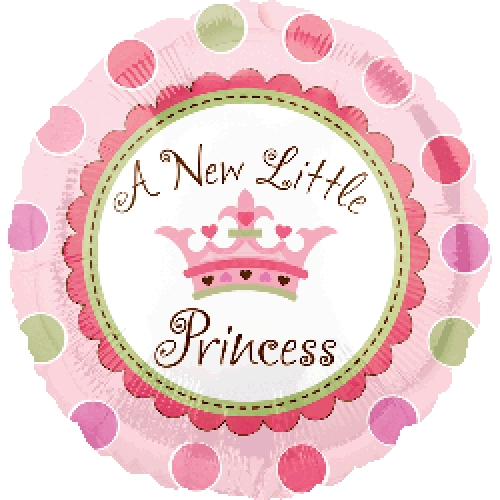"18"" New Little Princess Foil"