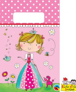 Rachel Ellen Princess Paper Party Bags