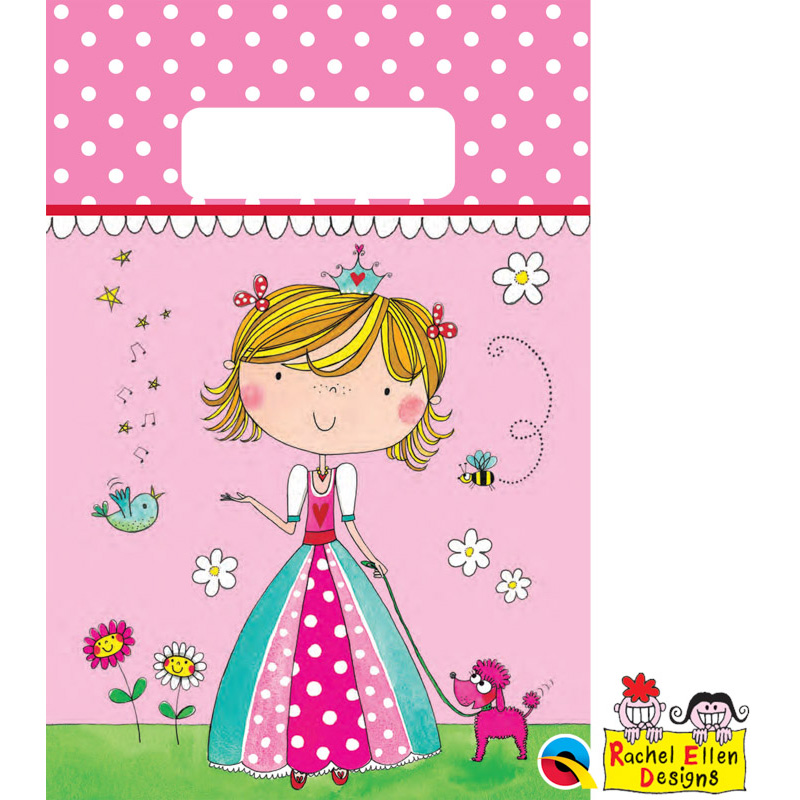 Rachel Ellen Princess Paper Party Bags