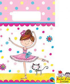 Rachel Ellen Ballerina Paper Party Bag