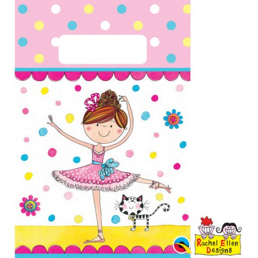 Rachel Ellen Ballerina Paper Party Bag