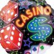 "18"" Casino Foil Balloon"