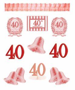 40th Anniversary Decorating Kit