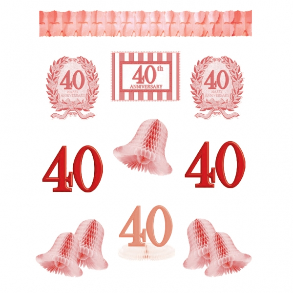 40th Anniversary Decorating Kit
