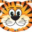 "30"" Shape Tickled Tiger Foil"
