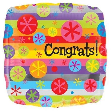 """18"""" Congrats Foil"""