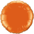 Metallic Orange Circle
