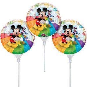 "9"" Mickey Mouse EZ Air Fill Balloons"
