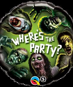 """18"""" Zombie Party Foil"""