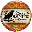 """18"""" Have a Haunting Halloween Foil"""
