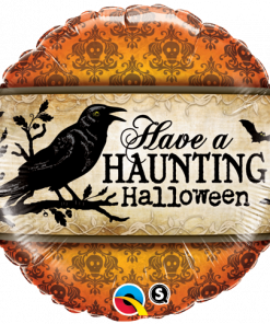 "18"" Have a Haunting Halloween Foil"