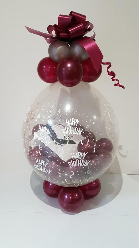 Money Gift Wrap Balloon