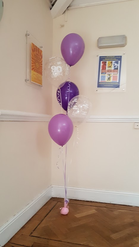 Five Balloon Display