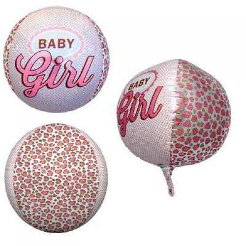 Baby Girl 3D Sphere Orbz