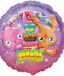 "18"" Moshi Monsters Happy Birthday Foil"