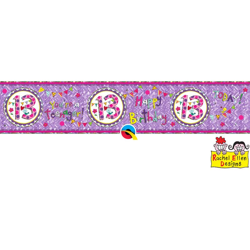 Rachel Ellen Banner Age 13 Perfect Pink