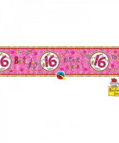 Rachel Ellen Banner Age 16 Perfect Pink