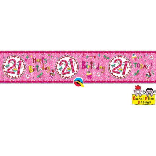 Rachel Ellen Banner Age 21 Perfect Pink