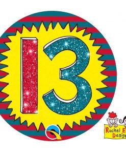 Rachel Ellen Badge Age 13