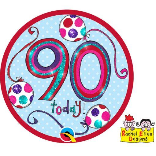 Rachel Ellen Badge Age 90 WOW
