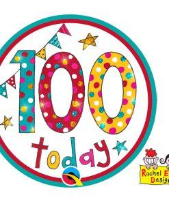 Rachel Ellen Badge Age 100