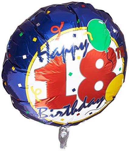 """18"""" Happy 18th Birthday Foil"""