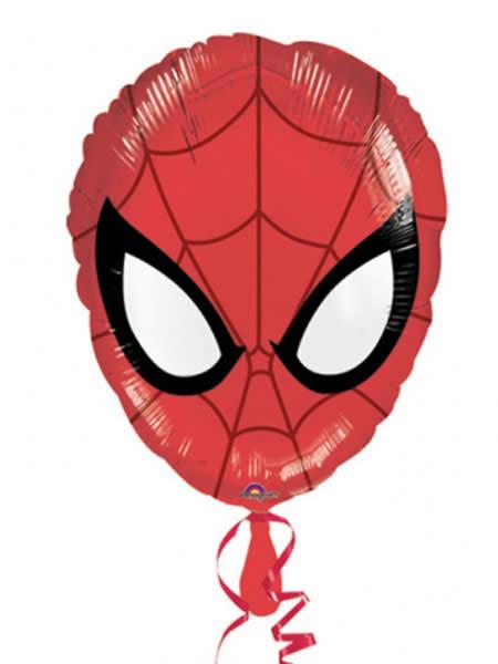 "17"" Ultimate Spider-Man Head Junior Shape Foil"