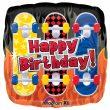 "18"" Happy Birthday Skateboards Foil"