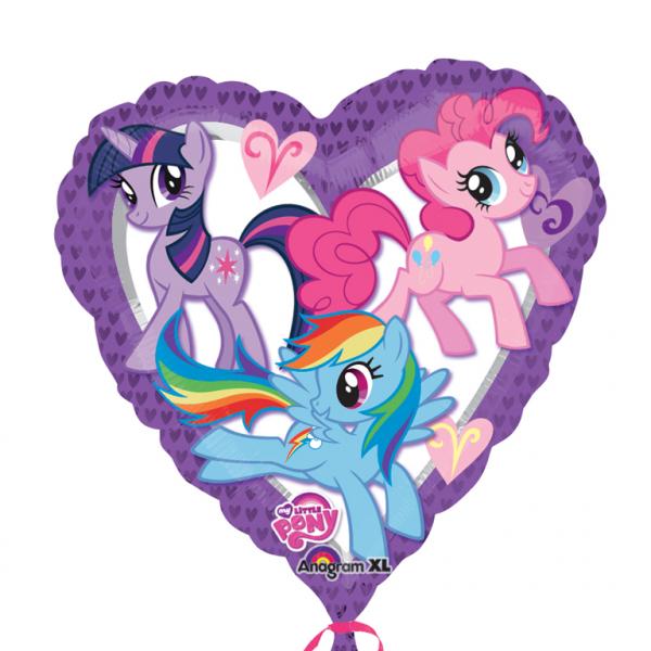 "18"" My Little Pony Heart Non Message Foil"