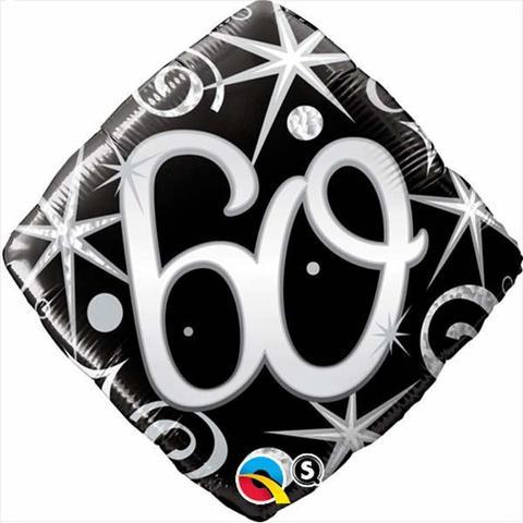 "18"" 60 Elegant Sparkles & Swirls Foil"