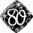 "18"" 80 Elegant Sparkles & Swirls Foil"