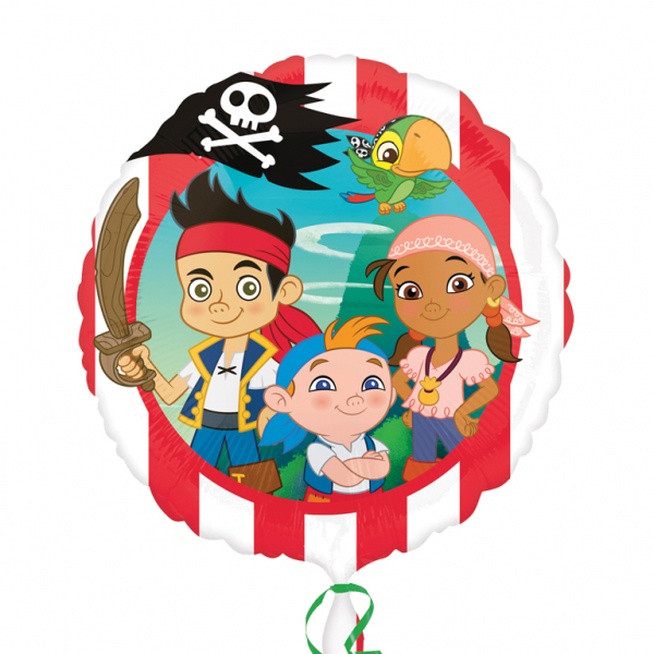"""17"""" Jake and the Neverland Pirates Foil"""