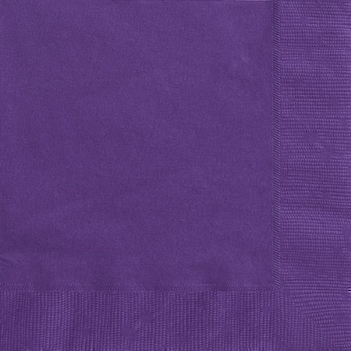 Deep Purple Luncheon Napkins