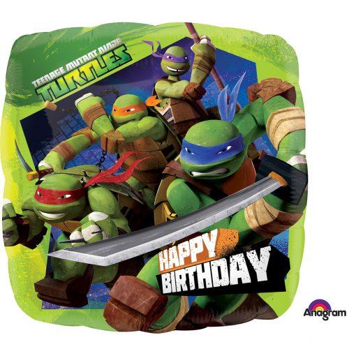 """18"""" Teenage Mutant Ninja Turtles Birthday Foil"""