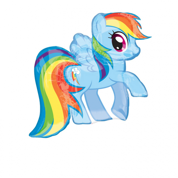 SuperShape My Little Pony Rainbow Dash Foil