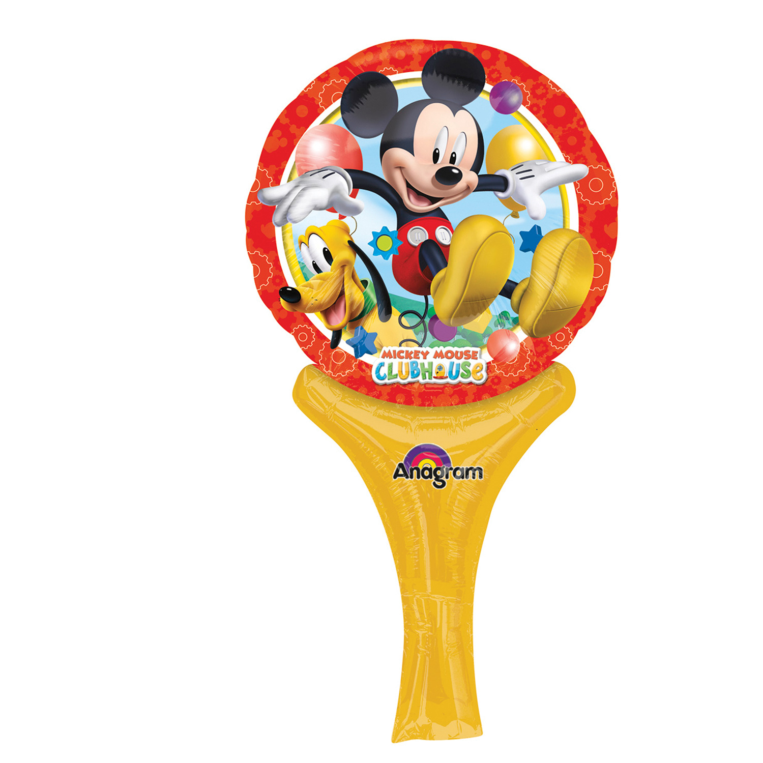 Inflate a fun Mickey Mouse