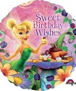 "18"" Tinker Bell Happy Birthday Foil"