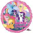 "17"" My Little Pony Happy Birthday Foil"