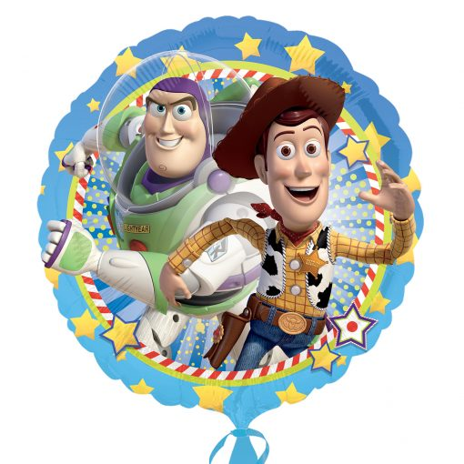 "18"" Toy Story Woody & Buzz Foil"