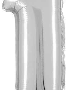 Megaloon 14 inch Air Filled 1 Silver