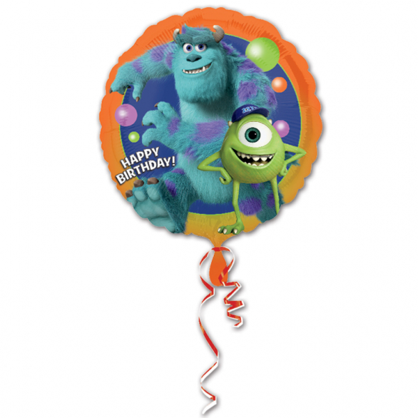 "17"" Monsters University Happy Birthday Foil"