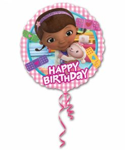 "18"" Doc McStuffins Happy Birthday Foil"
