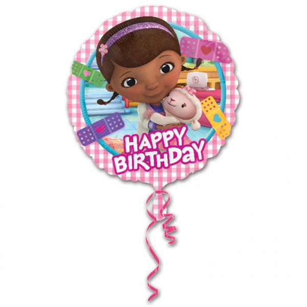 "18"" Doc McStuffins Happy Birthday Foil"