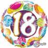"""18"""" 18 Big Dots and Glitz Foil"""